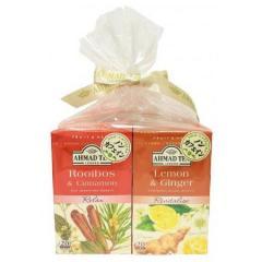 【お得なセット】アーマッドティー ハーブティー レモン&ジンジャー ・ ルイボス&シナモン ティーバッグ 20袋