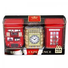 【数量限定】アーマッドティー ロンドン・エクスペリエンス リーフティー3缶セット