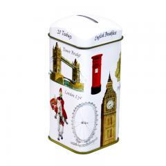 【数量限定】アーマッドティー 貯金箱ロンドンアイコン イングリッシュブレックファースト ティーバッグ 20袋
