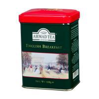 """【数量限定】オリジナルベアー""""Mr.Breakfast""""セット アーマッドティー イングリッシュブレックファースト リーフティー 100g缶"""