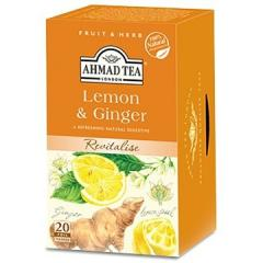 アーマッドティー ハーブティー レモン&ジンジャー ティーバッグ 20袋