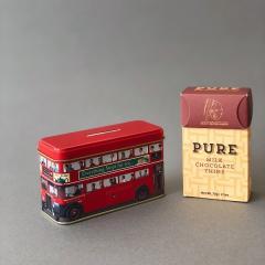 【限定コラボセット】MAX BRENNER PUREミルク チョコレート&アーマッドティー リトルロンドンバス セット