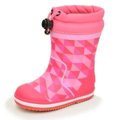 レインブーツ 長靴 ベビーシューズ キッズ 女の子 男の子 子ども 雨靴 イフミー IFME 子供靴 12.0-15.0cm 男児 女児 防滑意匠 ながくつ ピンク/80-9721