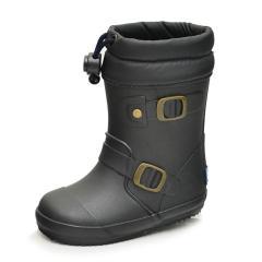 長靴 ベビーシューズ ながくつ レインブーツ ベビー キッズ イフミー IFME ブーツ 女の子 男の子 子ども/雨靴 子供靴 ブラック/80-9722