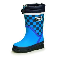 レインブーツ キッズ 長靴 イフミー IFME ながくつ イフミー99 女の子 男の子 子ども/雨靴 子供靴 15-19cm ブルー/80-9725