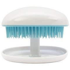 Areti デタングル ブラシ 携帯式 持ち運び a676SUI 絡まない 美髪 頭髪洗浄 スカルプケア