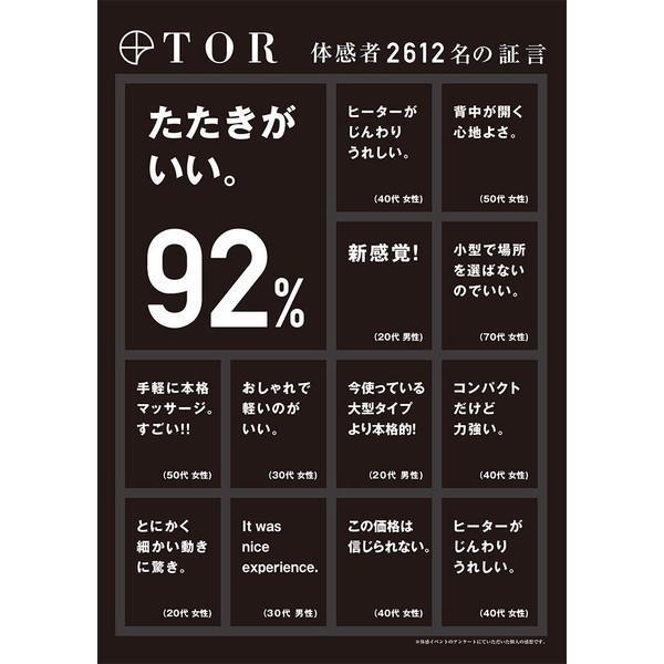 (送料無料)TOR(トール)マッサージシート タタキもみ(ブラウン) AX-HXT218Rbr