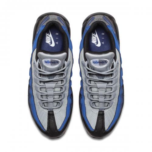 NIKE AIR MAX 95 ESSENTIAL(ナイキ エア マックス 95 エッセンシャル)BLACK/WHITE-BINARY BLUE-DEEP ROYAL【メンズ レディース スニーカー】17HO-I
