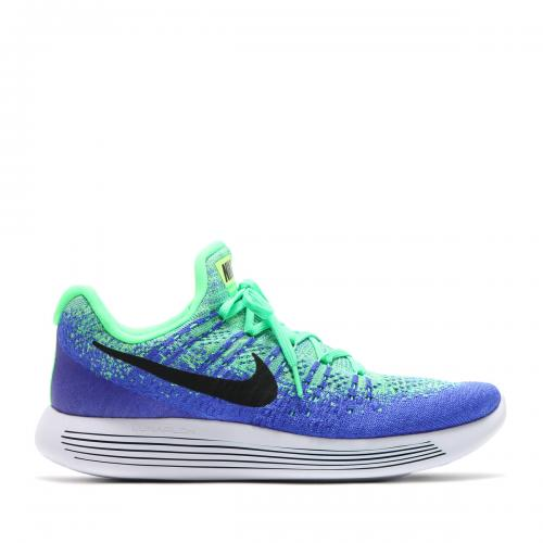 NIKE LUNAREPIC LOW FLYKNIT 2 (ナイキ ルナエピック ロー フライニット 2) ELECTRO GREEN/BLACK-MED BLUE-PARAMOUNT BLUE-GHOST GREEN【メンズ スニーカー】17SP-S