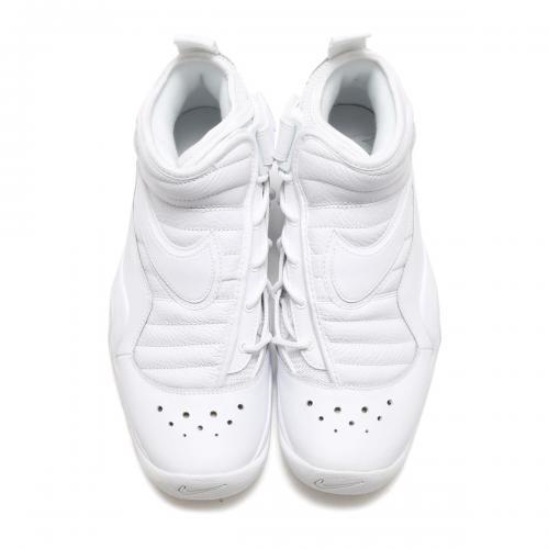 NIKE AIR SHAKE NDESTRUKT (ナイキ エア シェイク インデストラクト) WHITE/WHITE-WHITE【メンズ レディース スニーカー】17FA-S