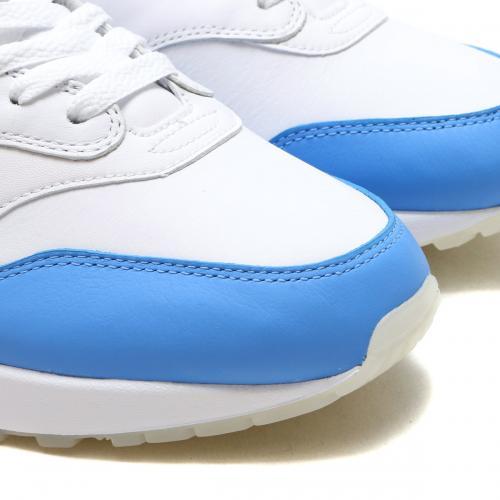 NIKE AIR MAX 1 PREMIUM SC (ナイキ エア マックス 1 プレミアム SC) WHITE/UNIVERSITY BLUE-UNIVERSITY BLUE【メンズ レディース スニーカー】17FA-S