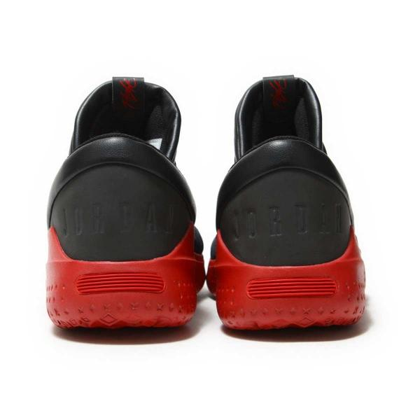 NIKE JORDAN FLIGHT LUXE(ナイキ ジョーダン フライト LUXE)BLACK/GYM RED-GYM RED【メンズ スニーカー】17HO-I