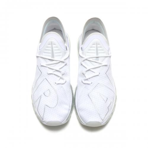 NIKE AIR MAX FLAIR (ナイキ エア マックス フレア) WHITE/PURE PLATINUM【メンズ レディース スニーカー】17SU-S