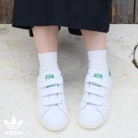 adidas Original STAN SMITH CF TF(アディダス オリジナルス スタン スミス CF TF)RUNNING WHITE/RUNNING WHITE/GREEN【メンズ レディース スニーカー】15FW-S