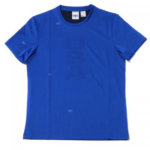 Reebok HOF PERFORATED TEE(リーボック ホールオブフェイム  パーフォレテッド Tシャツ) COLLEGE NAVY【メンズ Tシャツ】16FA-S
