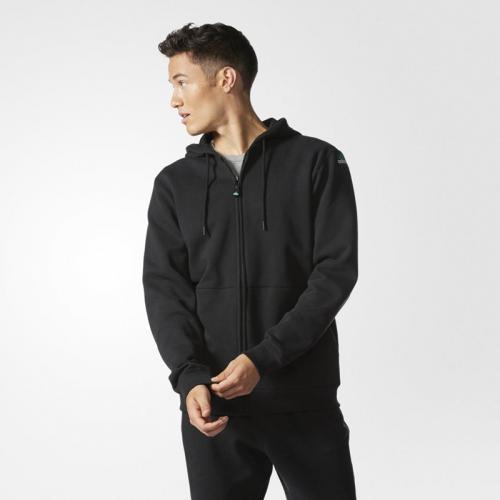 adidas EQUIPMENT FULLZIP HOODIE (アディダス フルジップ フーディー)(Black) 【メンズ パーカー】16FW-I