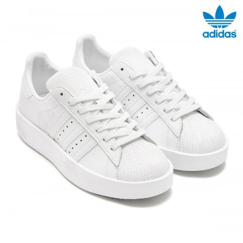 adidas Originals SUPERSTAR BD W (RUNNING WHITE/RUNNING WHITE/CORE BLACK) (アディダス オリジナルス スーパースターボールド) 【レディース スニーカー】17SS-I