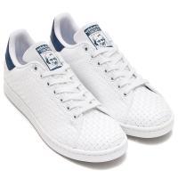 adidas Originals STAN SMITH (Running White/Running White/Mystery Blue) (アディダス オリジナルス スタンスミス) 【メンズ レディース スニーカー】17SS-I