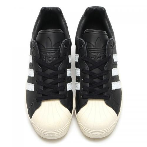 adidas Originals ULTRASTAR 80s (Core Black/Running White/Off White) (アディダス オリジナルス ウルトラスター 80s) 【メンズ スニーカー】17SS-I