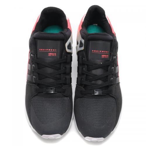 adidas Originals EQT SUPPORT RF(アディダス オリジナルス エキップメント サポート)  (Core Black/Core Black/Turbo) 【メンズ スニーカー】17SS-I