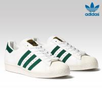 adidas Originals SUPERSTAR 80s (アディダス スーパースター 80s)RUNNING WHITE/COLLEGIATE GREEN/GOLD METT【メンズ レディース スニーカー】17SS-I