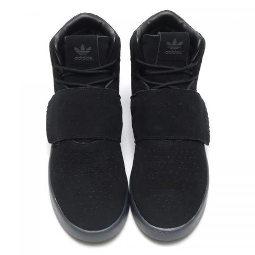 adidas Originals TUBULAR INVADER STRAP (Core Black/Core Black/Utility Black) (アディダス オリジナルス チューブラー インベーダー ストラップ) 【メンズ スニーカー】17SS-I
