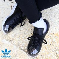 adidas Originals SUPERSTAR METAL TOE W (アディダス オリジナルス スーパースター メタル トゥ ウィメンズ) CORE BLACK/CORE BLACK/RUNNING WHITE【レディース スニーカー】17SS-I