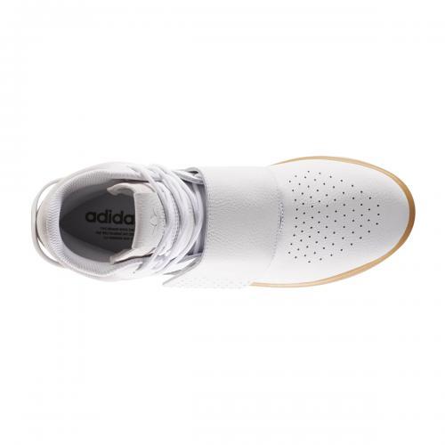 adidas Originals TUBULAR INVADER STRAP(アディダス オリジナルス チューブラー インベーダー ストラップ)Running White/Gum/Core Black【メンズ スニーカー】17FW-I