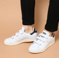 adidas STAN SMITH CF (アディダス スタン スミス CF) RUNNING WHITE/COLLEGIATE NAVY/CHALK WHITE【メンズ レディース スニーカー】17SS-I
