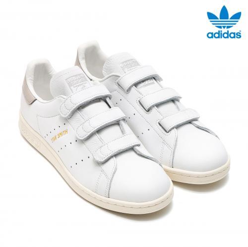 adidas STAN SMITH CF (アディダス スタン スミス CF) RUNNING WHITE/CLEAR GRANITE/CHALK WHITE【メンズ レディース スニーカー】17SS-I