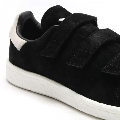 adidas Originals STAN SMITH CF(アディダス スタン スミス CF)CORE BLACK/CORE BLACK/GREEN【メンズ レディース スニーカー】17FW-I