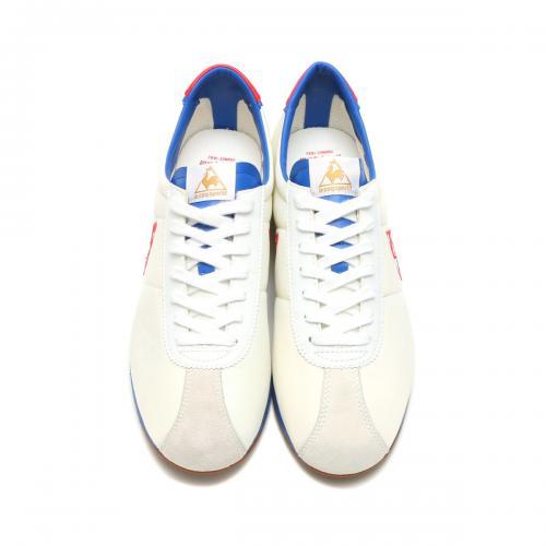 le coq sportif MONTPELLIER ll NY (ルコック スポルティフ モンペリエ  2 ニューヨーク) WHITE/BLUE/RED【レディース スニーカー】17SS-I