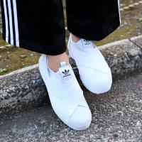 adidas Originals SUPER STAR SLIP ON W(アディダス オリジナルス スーパースター スリップオン)RUNNING WHITE/RUNNING WHITE/CORE BLACK【レディース スニーカー】CRYOVR