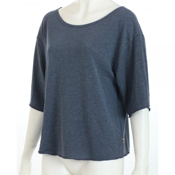 [アツギ] クリアビューティアクティブ 【YOGA】 スウェットTシャツ 5分袖 47011HS