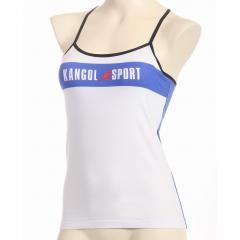 KANGOL SPORT(カンゴールスポーツ)【ジュニア】カップ付き キャミソールインナー 綿混 ロゴ入り