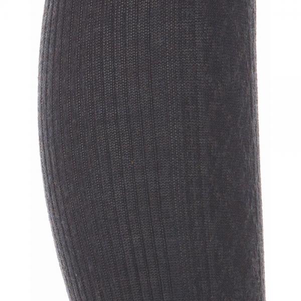 [アツギ] ATSUGI THE LEG BAR(アツギザレッグバー) コットン混 ダイヤ柄タイツ 400デニール相当