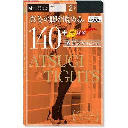 [アツギ] 【SALE】ATSUGI TIGHTS(アツギタイツ)140デニール タイツ 2足組