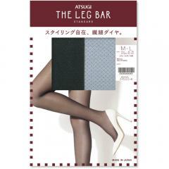 ATSUGI THE LEG BAR(アツギザレッグバー) スモールダイヤ柄 ストッキング