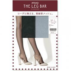 [アツギ] ATSUGI THE LEG BAR(アツギザレッグバー) メッシュ柄 ストッキング