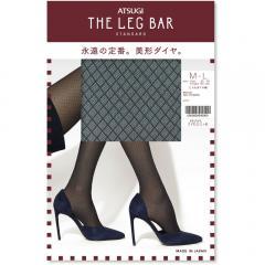 ATSUGI THE LEG BAR(アツギザレッグバー) ミドルダイヤ柄 ストッキング