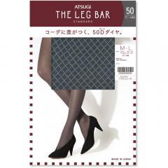 ATSUGI THE LEG BAR(アツギザレッグバー) ダイヤ柄 タイツ 50デニール相当