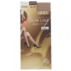 SLIMLINE(スリムライン)厚手 ひざ下丈 ショートストッキング 50デニール