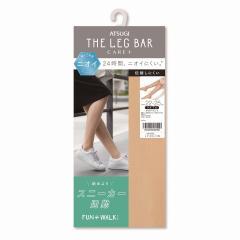 [アツギ] ATSUGI THE LEG BAR(アツギザレッグバー) CARE+ デオドラントストッキング ひざ下丈 24時間においにくい FAN+WALK FS3591