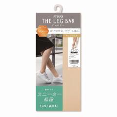 [アツギ] ATSUGI THE LEG BAR(アツギザレッグバー) CARE+ こだわりインソール ストッキング ひざ下丈 ムレにくい 足底キュプラ入り FAN+WALK FS50021
