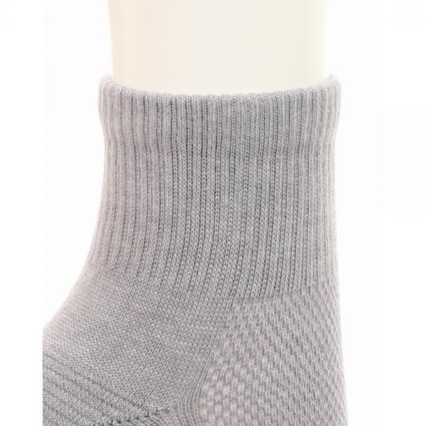 [アツギ] クリアビューティアクティブ 靴下 すべり止め付 ミドル丈 スポーツソックス JDC5081