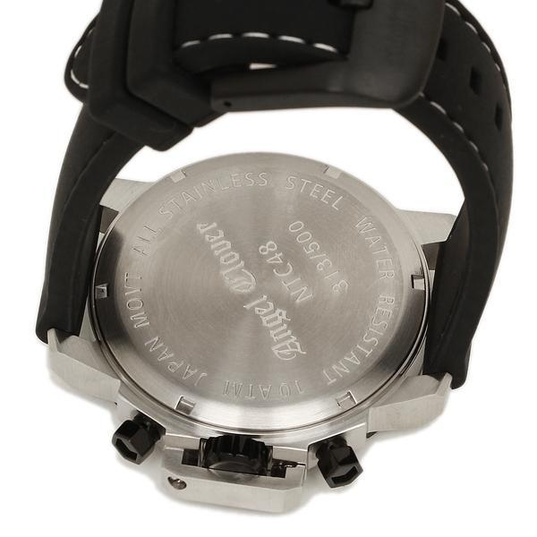 ANGEL CLOVER 腕時計 エンジェルクローバー NTC48SBK-LIMITED ブラック シルバー