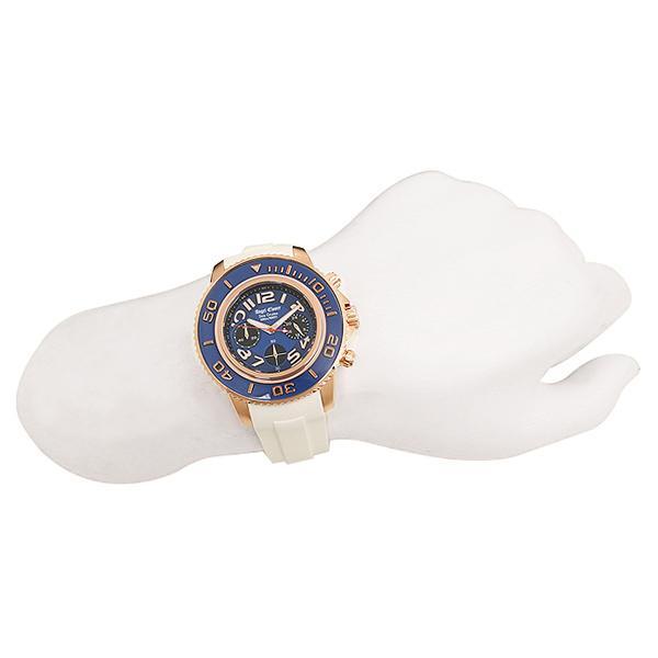 エンジェルクローバー 腕時計 ANGEL CLOVER SC47PNV-WH ホワイト ブルー ローズゴールド
