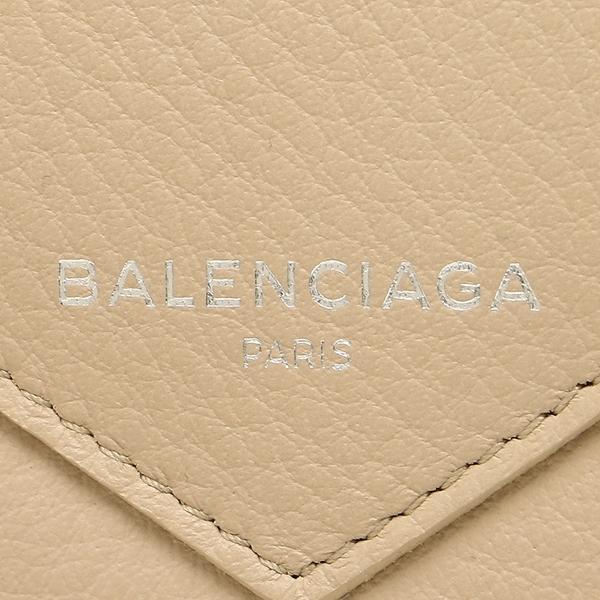 バレンシアガ 長財布 レディース BALENCIAGA 381226 DLQ0N 2730 ベージュ