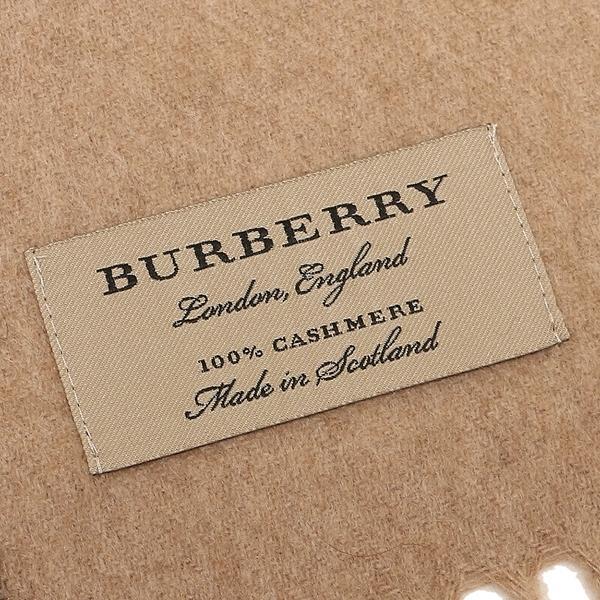 バーバリー マフラー メンズ/レディース BURBERRY 4031079 2310B キャメル
