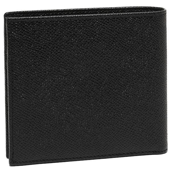 ブルガリ 二つ折り財布 メンズ BVLGARI 30396 BULGARI BULGARI ブラック